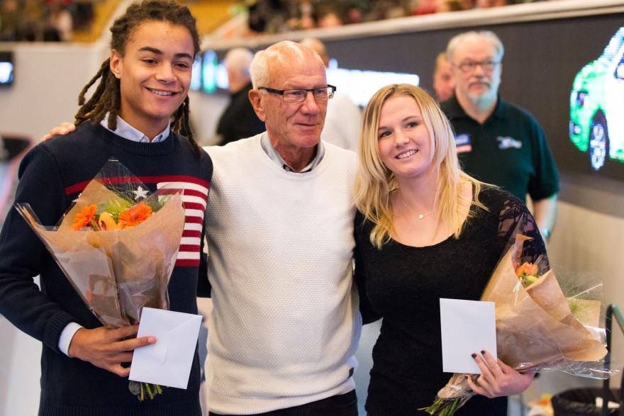 "Kevin Petersson Livingstone, Tommy Svensson och Stephanie ""Steffi"" Thour"