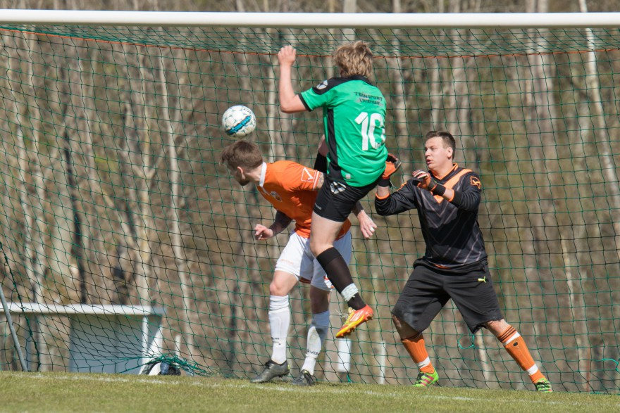 Anton Hildingsson sätter sitt och Hobys femte mål i matchen vilket är spiken i Sölvesborgskistan